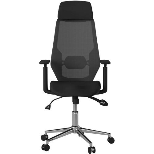Alphason Office Furniture Clifton Black Mesh Office Chair