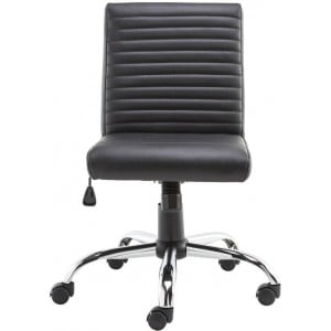 Alphason Office Furniture Lane Black Faux Leather Operator Chair