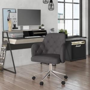 Alphason Office Furniture Washington Grey Fabric Office Chair