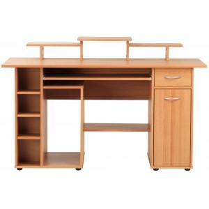 Alphason Office Furniture San Diego Beech Effect Computer Desk