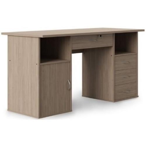 Alphason Office Furniture Dallas Oak Effect Computer Desk