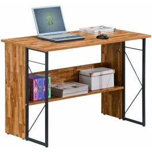 Alphason Office Furniture Rhodes Walnut Computer Desk