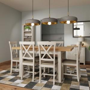 Wittenham Painted Furniture 1.2m Extending Dining Table