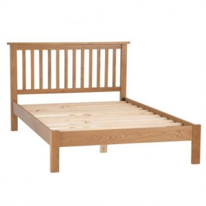 Buxton Rustic Oak Furniture 4ft6 Double Bed