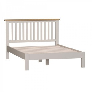 Wittenham Painted Furniture Grey 4'6 Double Bed
