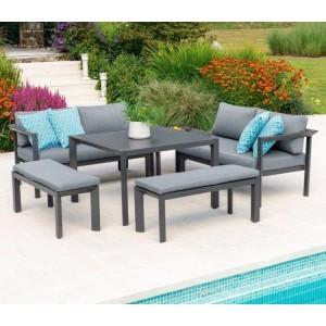 Alexander Rose Portofino Garden Furniture Casual Dining Set