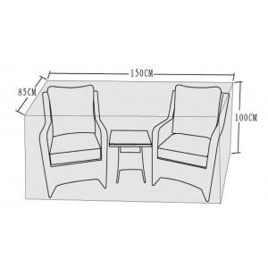 Signature Weave Garden Furniture 3 piece Lounge Set Cover