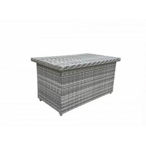 Signature Weave Garden Furniture Sarah Large Grey Cushion Box