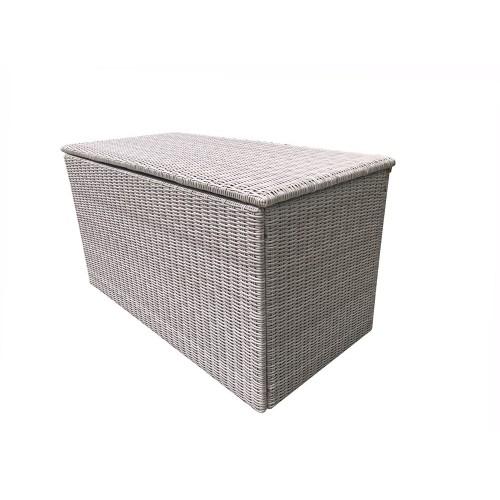 Signature Weave Garden Furniture Alexandra Large Grey Cushion Box