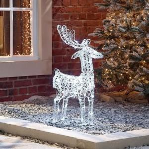 Nova Garden TWW Soft Acrylic Miracle 80cm Christmas Reindeer