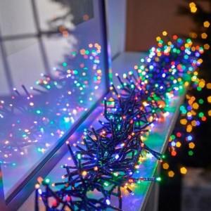 960 Multi Colour LED Cluster Christmas Lights