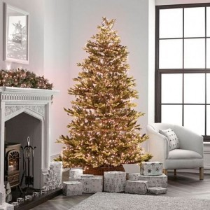 1500 Copper Glow LED Compact Cluster Christmas Tree Lights