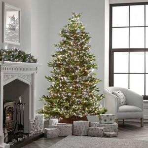 Nova Garden TWW 1000 Cool & Warm White Mix LED Compact Cluster Christmas Tree Lights