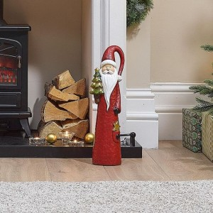51cm Red Santa with LED Christmas Tree