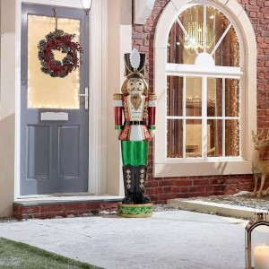 Klaus 5.5ft LED Christmas Nutcracker