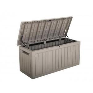 RoyalCraft Garden Furniture 450 Litre Deluxe Grey Storage Box