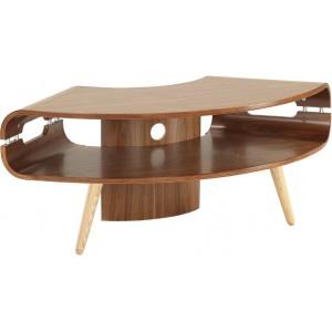 Jual Havana Matt Walnut Furniture Corner TV Stand
