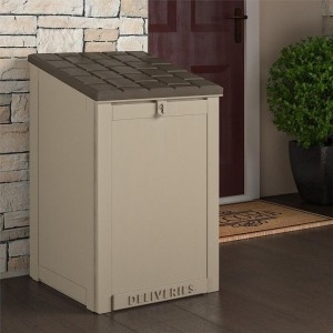 Cosco Outdoor Living Furniture Tan BoxGuard Package Deliver Box