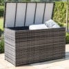 Maze Rattan Garden Furniture Richmond Grey Corner Bench Set with Rising Table   - PRE ORDER