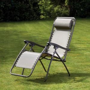 Royalcraft Metal Garden Furniture Zero Gravity Relaxer Chair