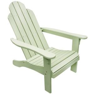 Royalcraft Garden Furniture Wooden Porto Green Adirondack Chair KD