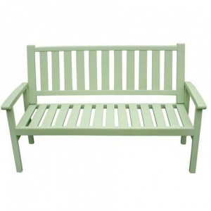 Royalcraft Garden Furniture Wooden Porto Green 3 Seater Bench Homestead