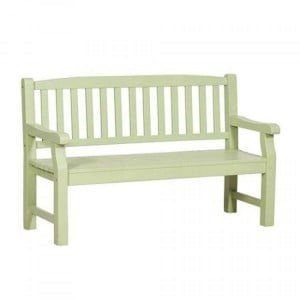 Royalcraft Garden Furniture Wooden Porto Green 3 Seater Bench Turnbury