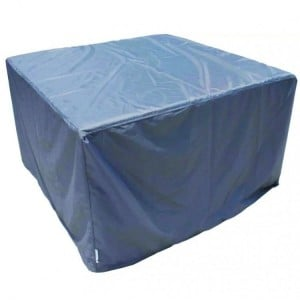 Royalcraft Garden Furniture Cover for Square Cube Table & Chairs Set in Grey