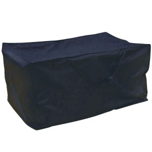 Royalcraft Garden Heavy Duty Polyester Large Cushion Storage Bag Cover in Black