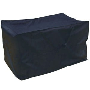 Royalcraft Garden Heavy Duty Polyester Extra Large Cushion Storage Bag Cover in Black