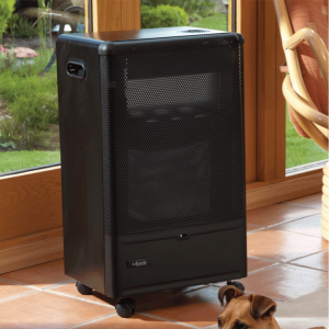 Lifestyle Outdoor Living Azure Blue Flame Gas Cabinet Heater