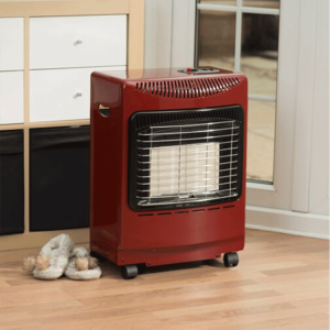 Lifestyle Outdoor Living Red Mini Heatforce Gas Cabinet Heater