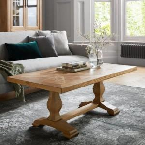 Bentley Designs Belgrave Rustic Oak Furniture Coffee Table