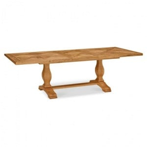 Bentley Designs Belgrave Rustic Oak Furniture 6-8 Dining Table