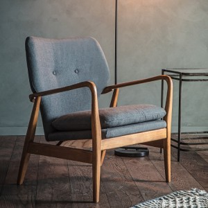 Gallery Direct Furniture Jensen Armchair Grey