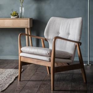 Gallery Direct Furniture Jensen Armchair Natural