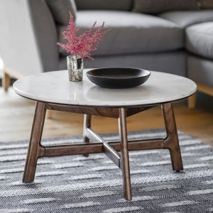 Gallery Direct Furniture Barcelona Acacia Round Coffee Table