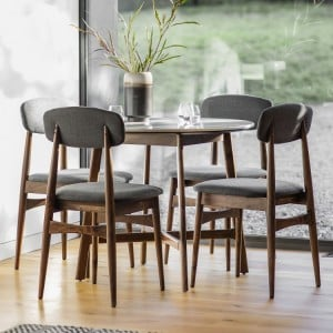 Gallery Direct Furniture Barcelona Acacia Dining Table Round