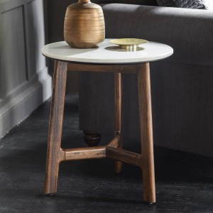 Gallery Direct Furniture Barcelona Acacia Side Table