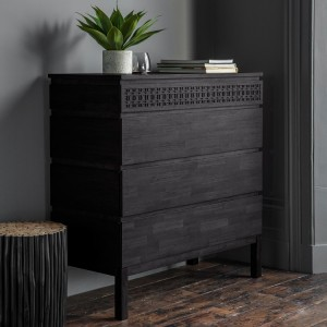 Gallery Direct Furniture Boho Boutique Mango 4 Drawer Chest