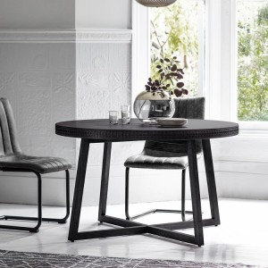 Gallery Direct Furniture Boho Boutique Mango Round Dining Table