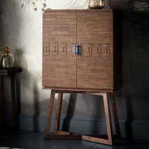 Gallery Direct Furniture Boho Retreat Mango Cocktail Cabinet
