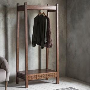 Gallery Direct Furniture Boho Retreat Mango Open Wardrobe