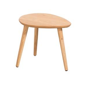 Devonshire Copenhagen Oak Furniture Small Lamp Table