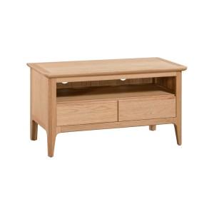 Devonshire Copenhagen Oak Furniture Standard TV Unit