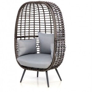 Maze Rattan Riviera Garden Furniture Grey Chair