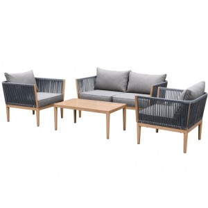 Maze Rattan Palma Garden Furniture Sofa Set