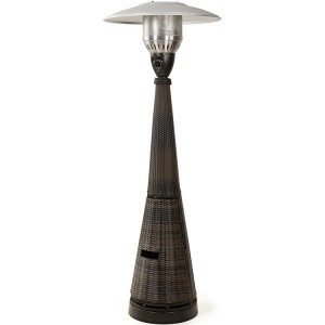 Maze Rattan Garden Brown Gas Patio Heater