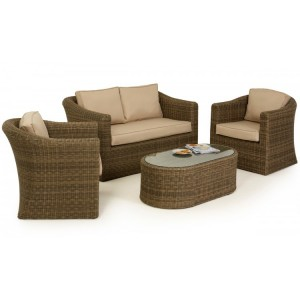 Maze Rattan Winchester Garden 2 Seat Sofa Set