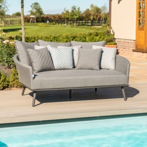 Maze Fabric Garden Furniture Ark Flanelle Daybed